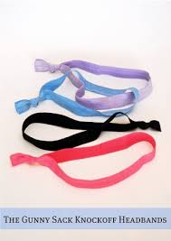 elastic headbands anthropologie knockoff multitude headbands the gunny sack