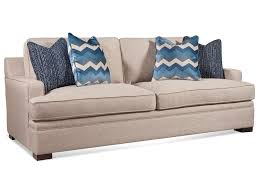 braxton culler sleeper sofa braxton culler westchester 783 0157 casual track arm sofa with 7