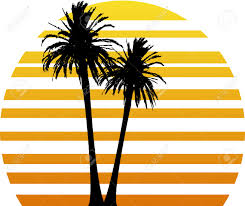 palm tree design logo search kabana mural