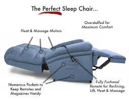 amazon com the perfect sleep chair lift chair u0026 medical