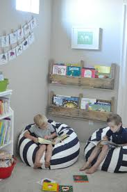 pottery barn kids corner bookcase great tips comfy seats varied and plentiful book storage art