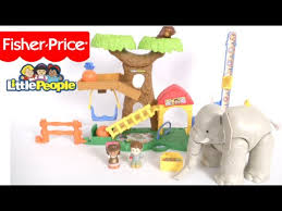 Fisher Price Little People Barn Set Little People Big Animal Zoo From Fisher Price Youtube