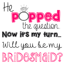 ring pop bridesmaid invite he popped the question bridesmaid ring pop idea free