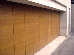 modern house garage elegant sliding garage doors in natural colour amaza design