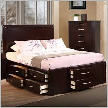 oak park bedroom collection cal king storage bed in solid intended