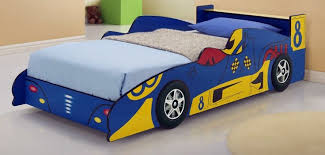 Blue Car Bed Red Racing Car Bed Kids Race Graysonline