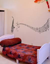 vinyl wall decal sticker saxophone music notes sax 326