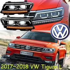 tiguan volkswagen lights car styling tiguan headlight 2017 2018 free ship chrome tiguan