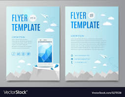 flyer graphic design layout design layout flyer book cover with modern white vector image