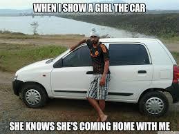 Car Girl Meme - i show a girl the car