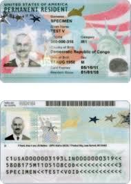 photo card permanent residence united states