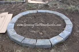 Garden Retaining Wall Blocks by The Circular Raised Bed Growing The Home Garden