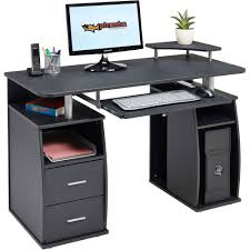 Computer Desk Best Buy by Computer Desk With Shelves Cupboard U0026 Drawers For Home Office