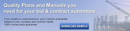 construction quality control plan templates