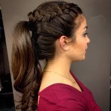 crochet braid ponytail braided ponytail hairstyles crochet braid ponytail hairstyle