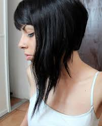 shorter back longer front bob hairstyle pictures leaning towards something like this long front super super short