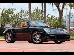 2009 porsche 911 cabriolet 2009 porsche 911 turbo cabriolet tiptronic for sale in miami fl