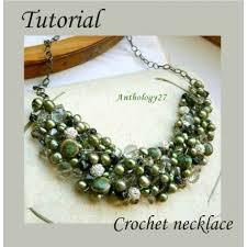 crochet beads necklace pattern images Crochet necklace tutorial jpg