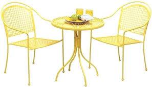 Retro Patio Furniture Sets Yellow Patio Furniture U2013 Bangkokbest Net