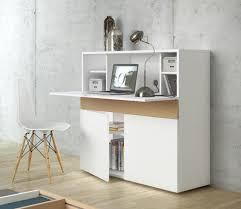 meuble bureau secretaire design bureau secrétaire blanc design moderne placard et rangement jpg