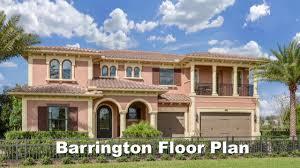 Barrington Floor Plan Standard Pacific Homes Estancia At Wiregrass Barrington Model