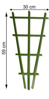 plant support pot trellis obelisk tripod plastic garden green