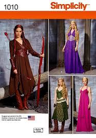 Elf Costume Halloween Warrior Elf Costume Pattern Elf Princess Costume Pattern