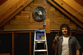 gable attic fan installation with grading done i m preparing for a summer with a new attic