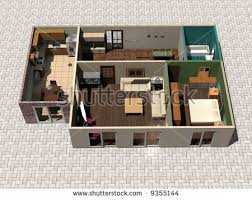 3d House Plans Stock Images Royalty Free Images Vectors 3d House Building Free