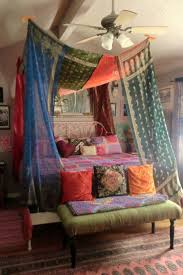 bohemian gypsy bed canopy by babylonsisters on etsy 375 00