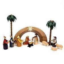 wooden nativity set wooden nativity and biblical folk from germany at the wooden wagon
