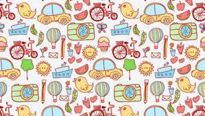 cartoon travel background element vector material u2013 over millions