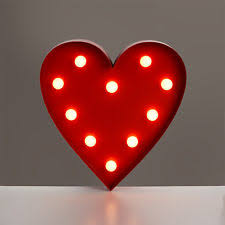modern battery operated novelty marquee light 10 warm
