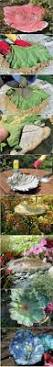 Garden Diy Crafts - concrete leaf castings made from real leaves they are all hand