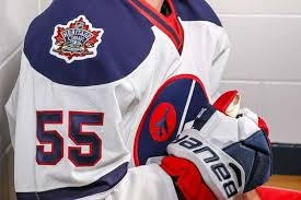 the nhl unveiled the oilers and jets jerseys for the upcoming