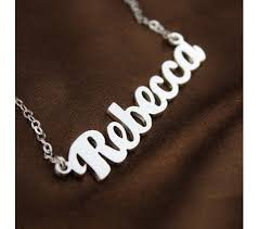 Best Name Necklace 16 Best Name Necklace Images On Pinterest Name Necklace