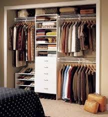 Shallow Closet Organizer - before u0026 after a creative solution for a no closet bedroom