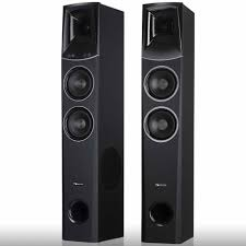 white home theater speakers nakamichi 500w tower speakers home theater system black tower