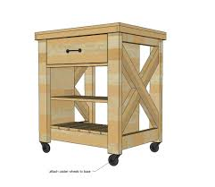 How To Build A Movable Kitchen Island Small Movable Kitchen Island
