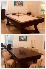 Dining Table And Pool Combination by Identify Dining Pool Table Combination