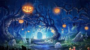 download wallpaper 1920x1080 halloween holiday castle gates