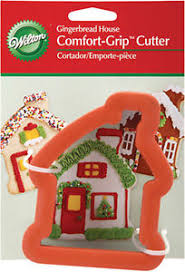 Comfort Grip Cookie Cutters Wilton Comfort Grip Cookie Cutters Gingerbread House Snowflake