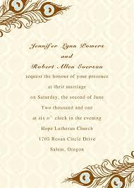 wonderful wedding invitation cards samples 25th marriage