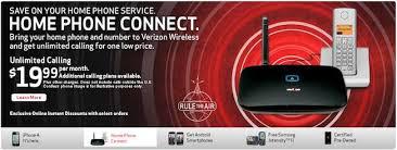 verizon home plans verizon home phone connect just went live gadget gram