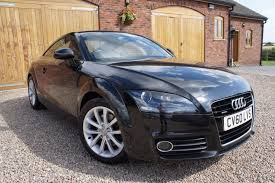 history of audi tt used brilliant black audi tt for sale