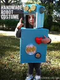 handmade robot costume girls can be robots too lansdowne life