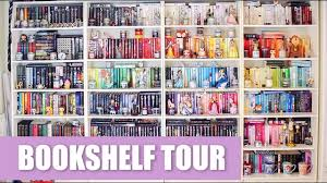 bookshelf tour 2017 youtube