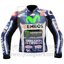 motorcycle racing jacket jorge lorenzo yamaha movistar motogp 2016 motorcycle racing jacket