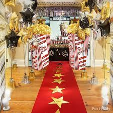 Oscar Dinner Ideas Red Carpet Hollywood Party Ideas Hollywood Dance Themes