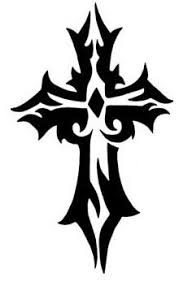 Tattoo Cross Tribal Design   tribal cross tattoo designs tattoo ideas pinterest tribal